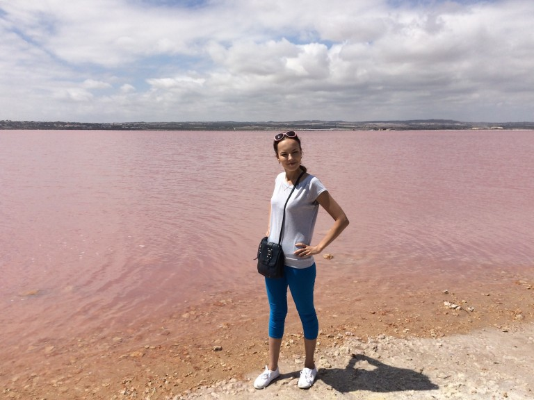 Розовое озеро Торревьехи